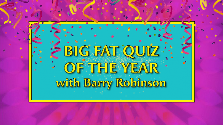 New Year's Day Quiz with Barry Robinson